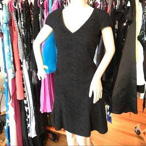 Club Monaco Leathia Cotton Lace fit flare dress 8